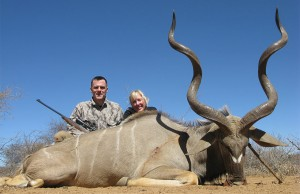 Kudu hunting in Limpopo, South Africa
